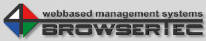 BROWSERTEC :: webbased management systems :: Industrial Management > Kontakt